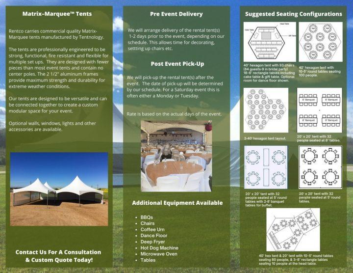 Tent Brochure
